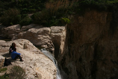 El Al River - White Waterfall 2