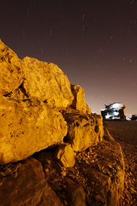 Long exposure in Har Hadar
