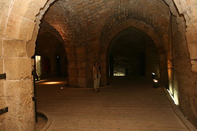 Crusader halls and Turkish Bath house