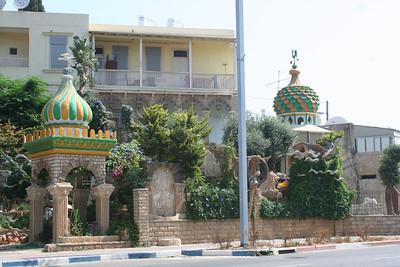 Tunisian synagogue - mosaics