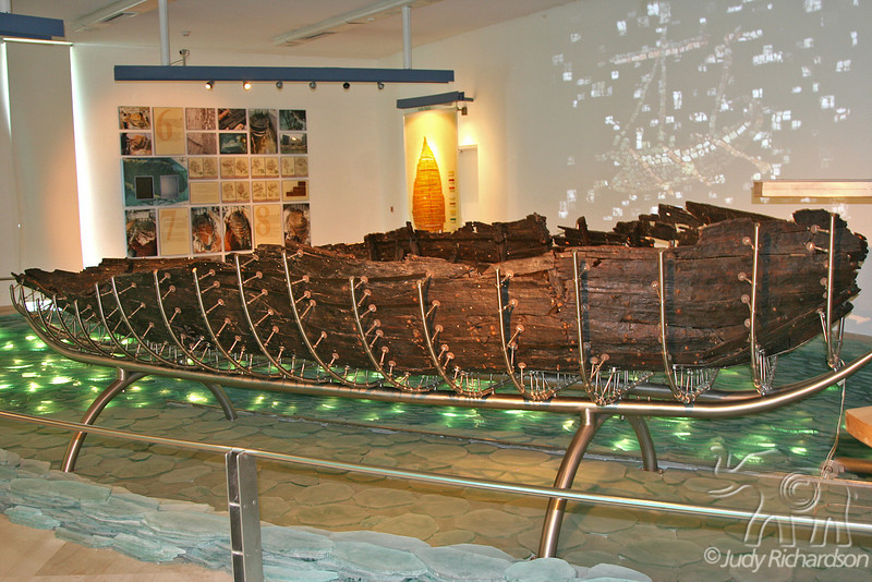 Ancient Boat in Museum