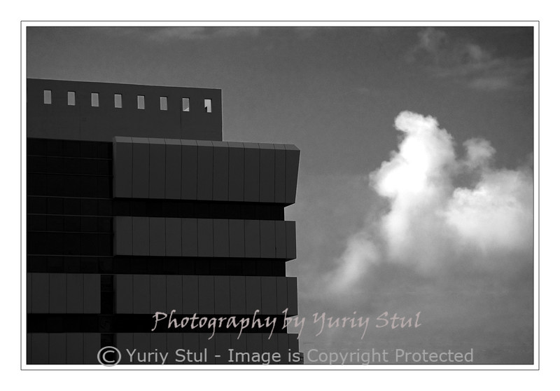 Building and cloud.