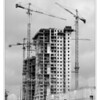 High building construction.