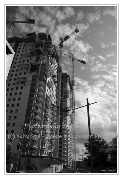 High building construction