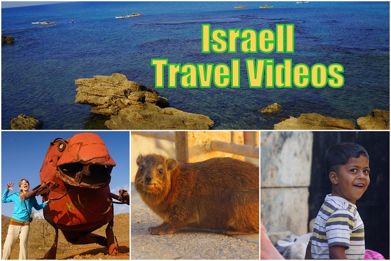 Travel videos from our time spent exploring Israel for nearly two weeks.