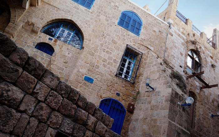 Architecture in Jaffa, Israel.