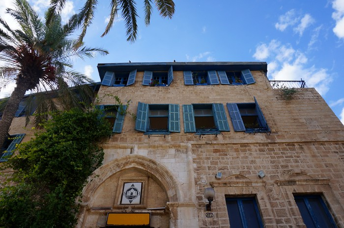 The historic centre of Old Jaffa, Israel.