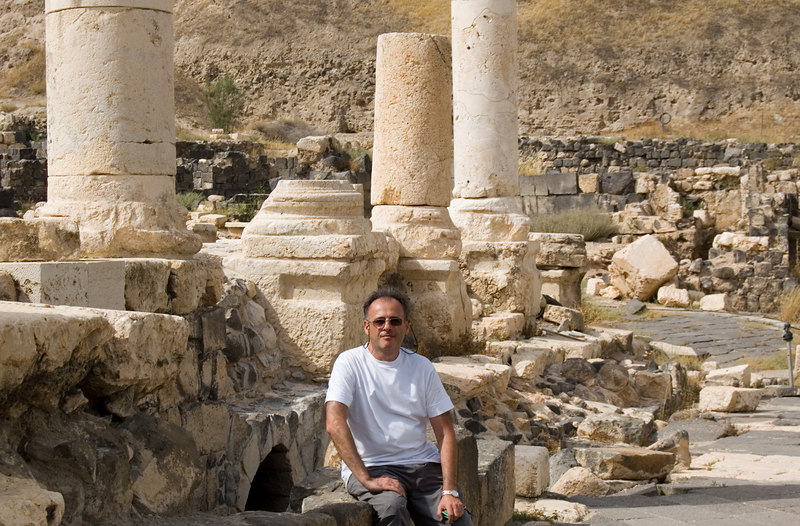 Beit Shean. Antique town.