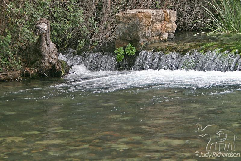 Caesarea Philippi Stream Feeding Jordan River
