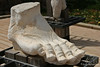Marble Foot from Roman Statue