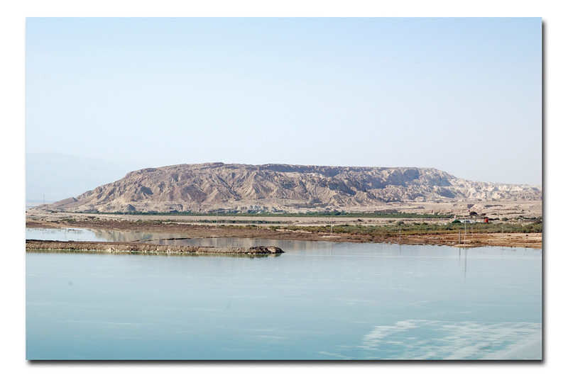 Dead Sea, view on Jordan