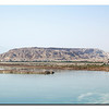 Dead Sea, view on Jordan