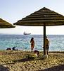 Couple, Beach, Eilat, Israel