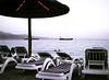 Empty Chairs, Beach, Eilat, Israel