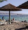 Relaxing in the Sun, I, Beach, Eilat, Israel