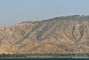 Golan Heights off Sea of Galilee