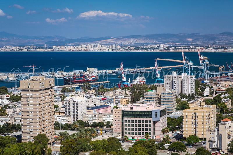 in Haifa, Israel, Middle East.