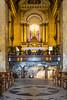 The Stella Maris Carmelite Monastery interior in Haifa, Israel, Middle East.