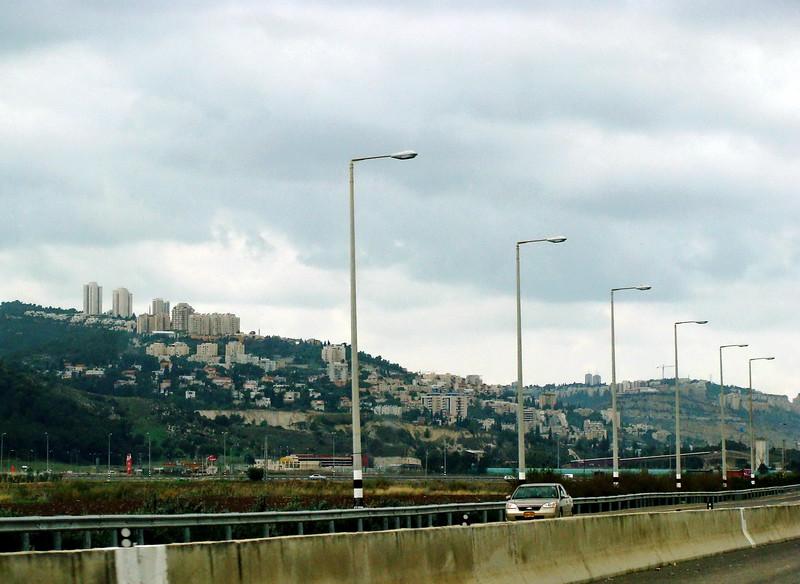 Haifa from the Highway