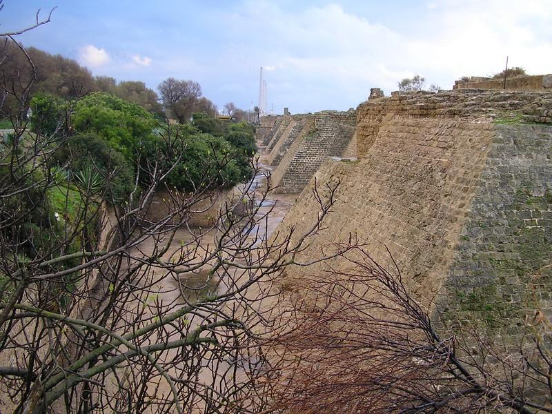 Byzantine Walls at Caesarea