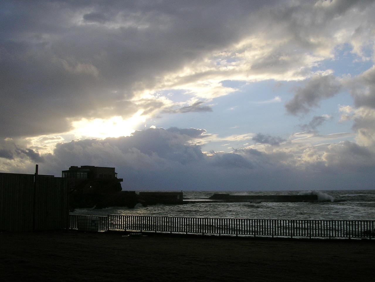 Mediterranean Sea at Dusk