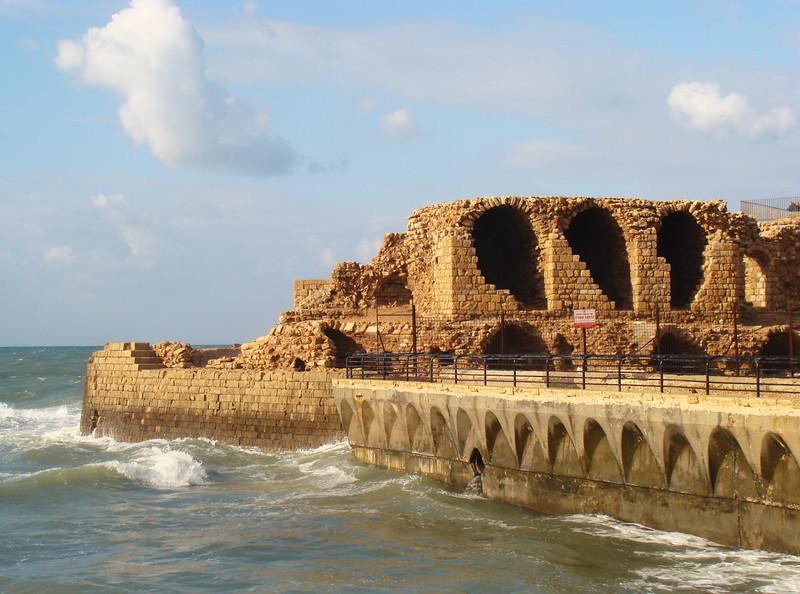 Roman Aqueduct at the Mediterranean Sea
