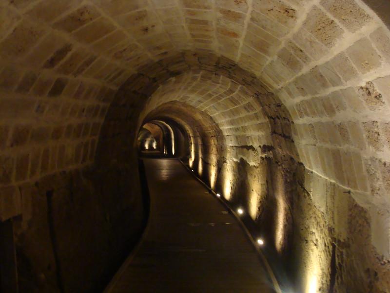 In the Templar Tunnel