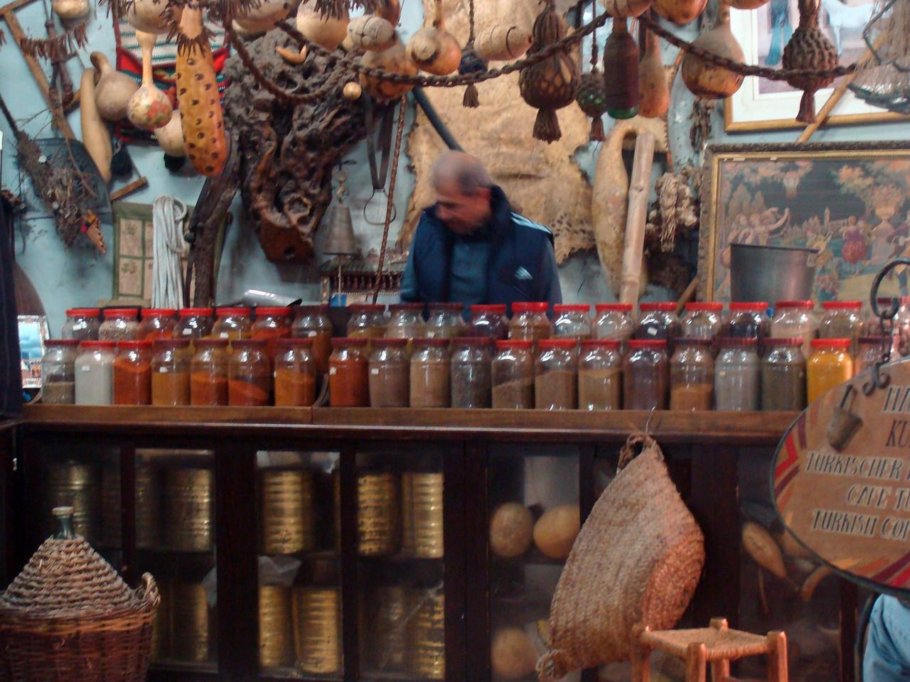 Spice Jars and Turkish Coffee