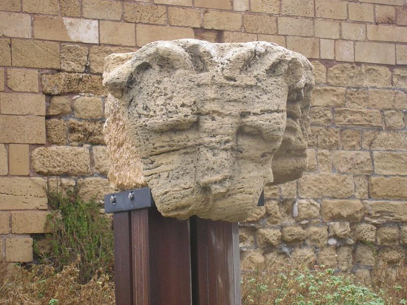 Lion's Head Column Capital