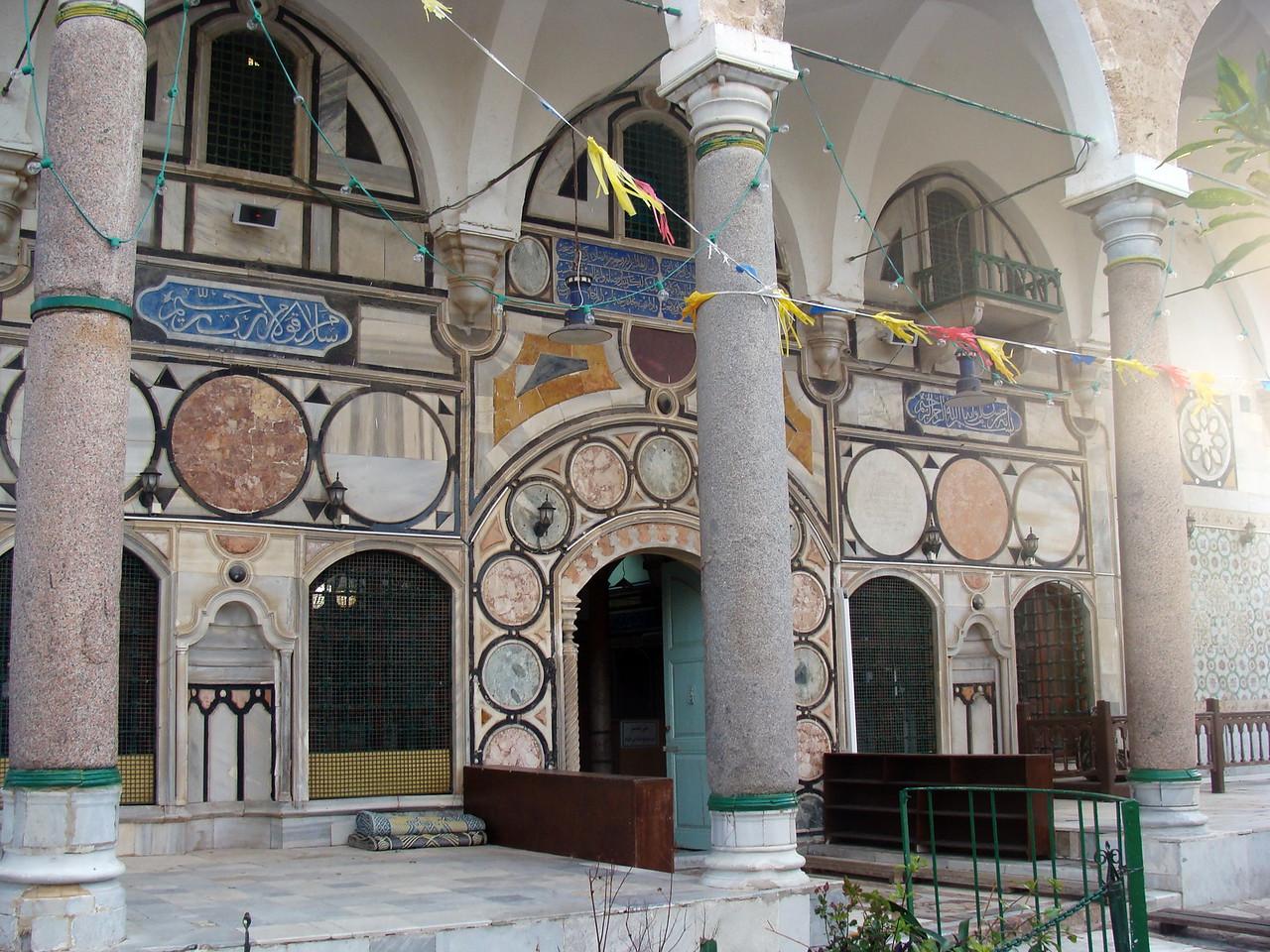 Al-Jazzar Mosque Entrance