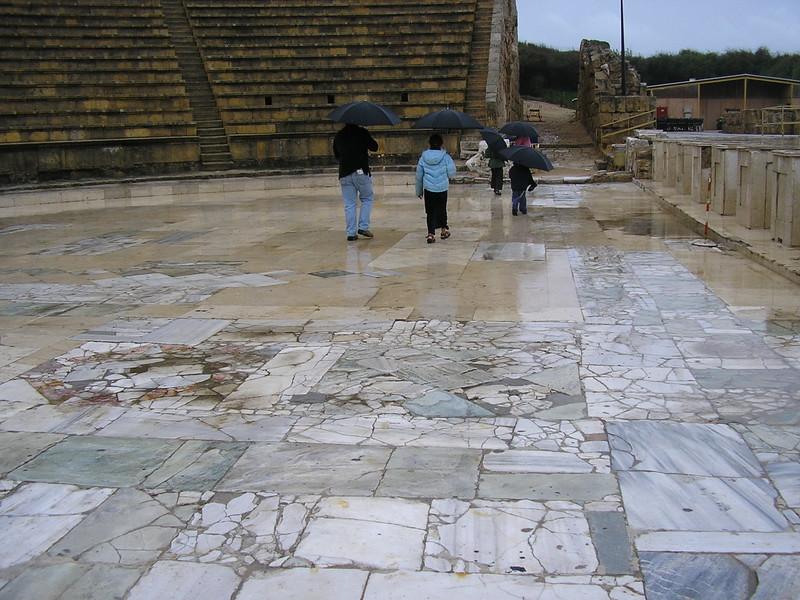 Roman Amphitheater Stage Floor