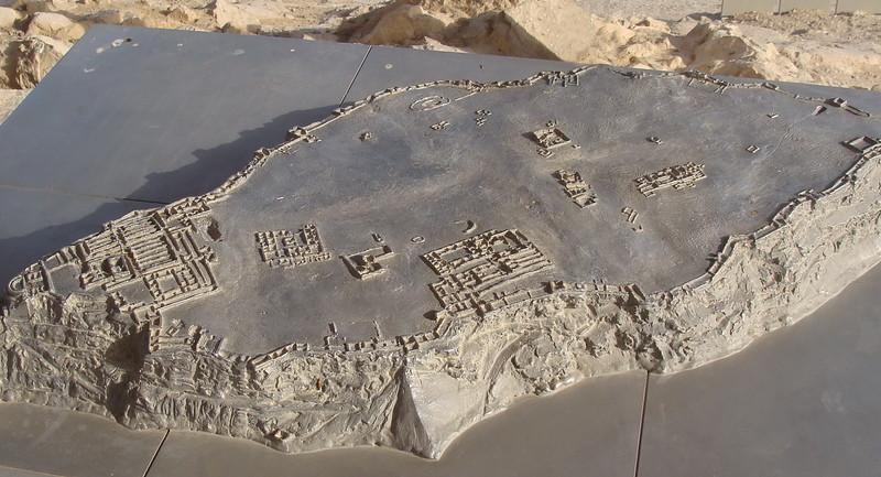 Model of Masada 2