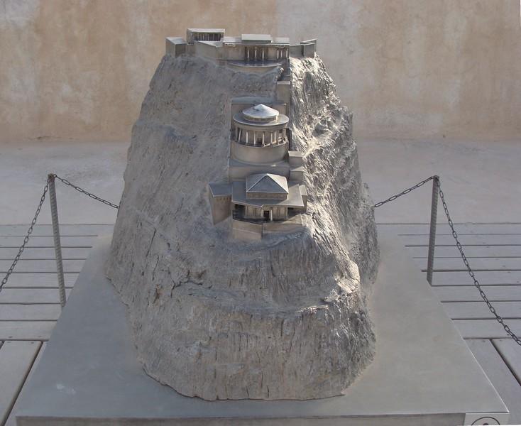 Model of Masada 4