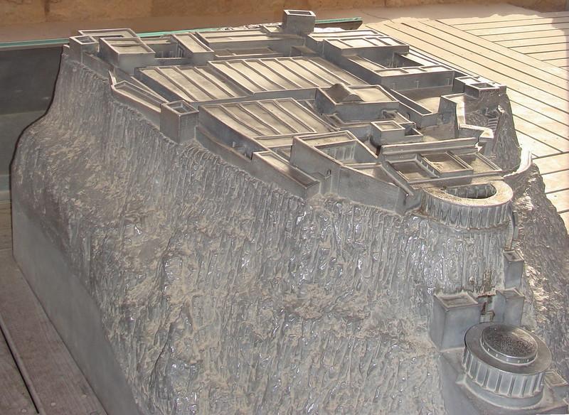 Model of Masada 1