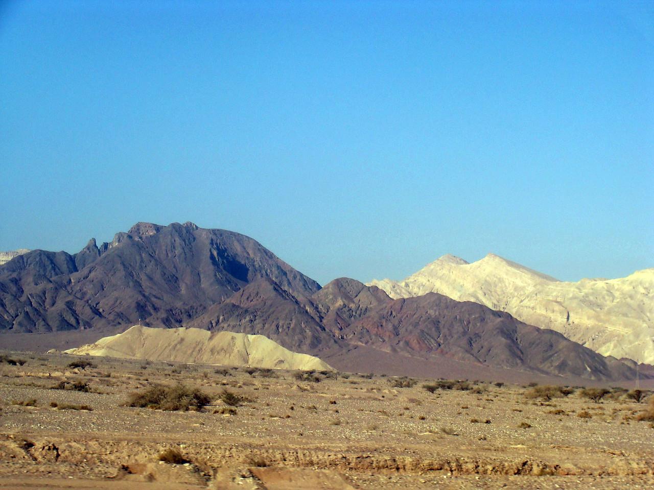 Judean Desert Colors
