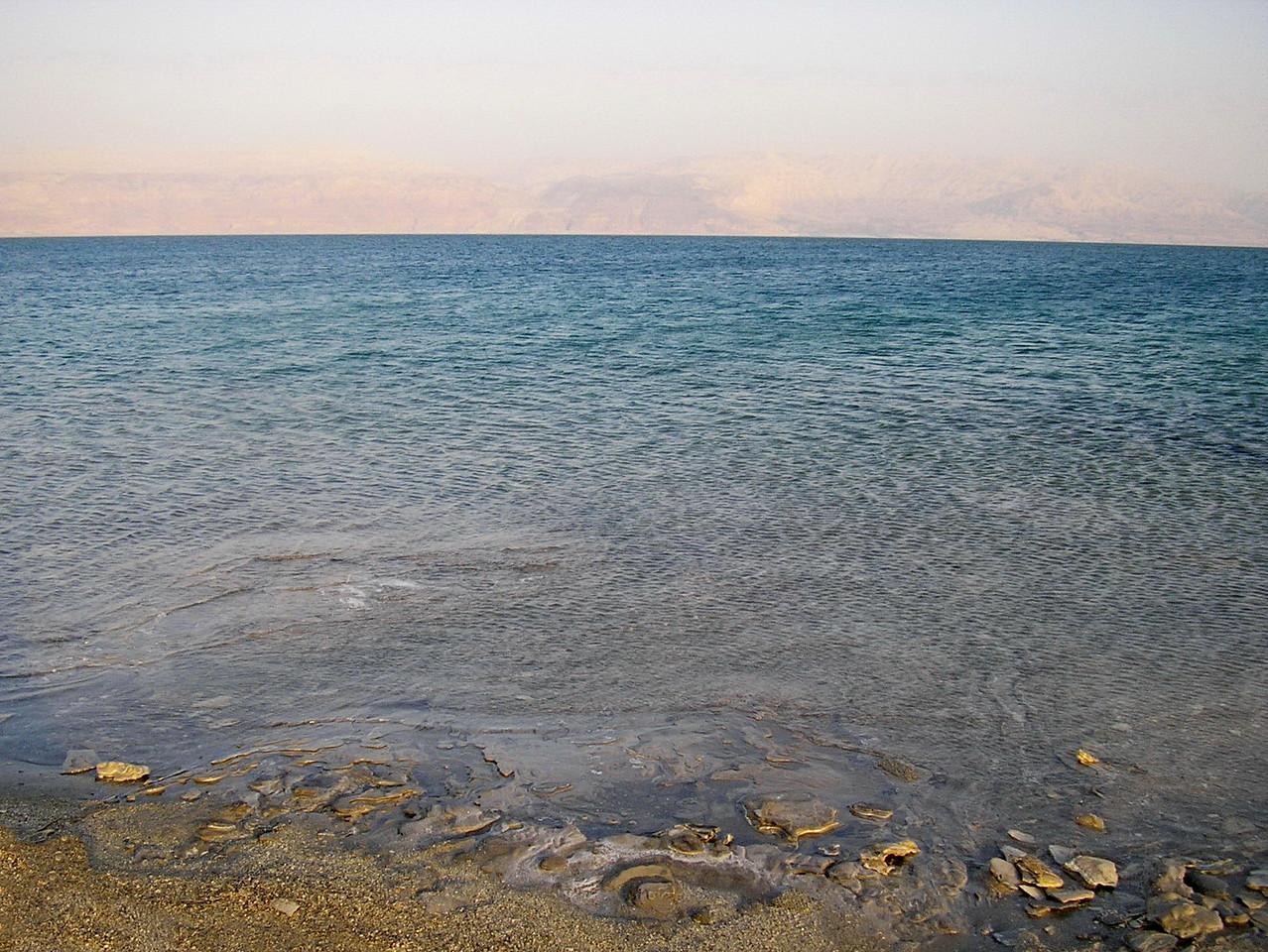 Israel to Jordan across the Dead Sea