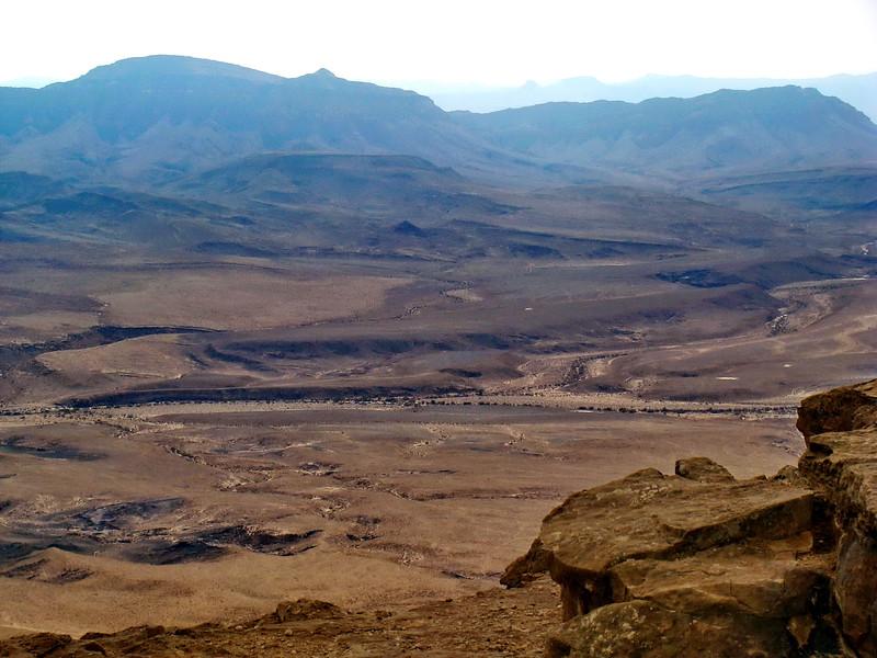 Desert neaer Makhtesh Ramon