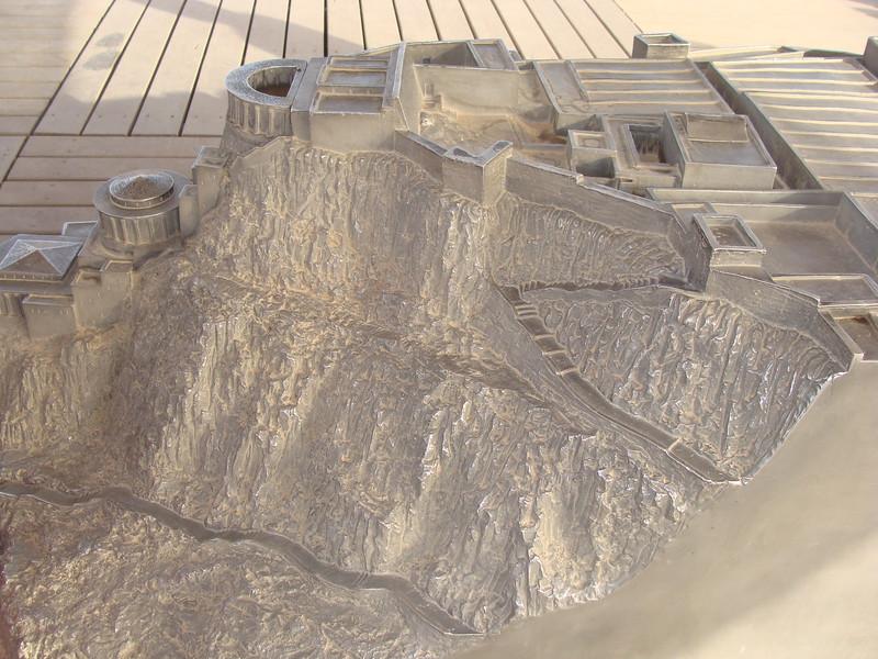 Model of Masada 3