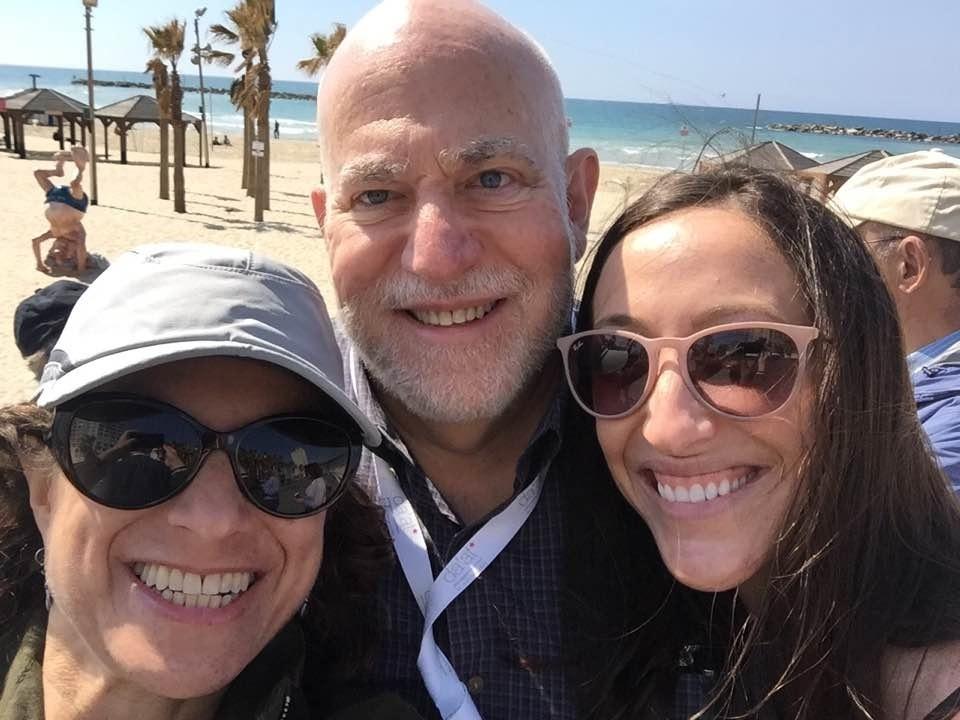 Susie Sorkin, Arthur Slepian, and Sarah Persitz
