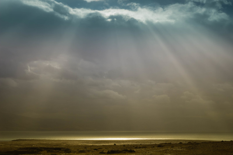 God Shines on the Dead Sea