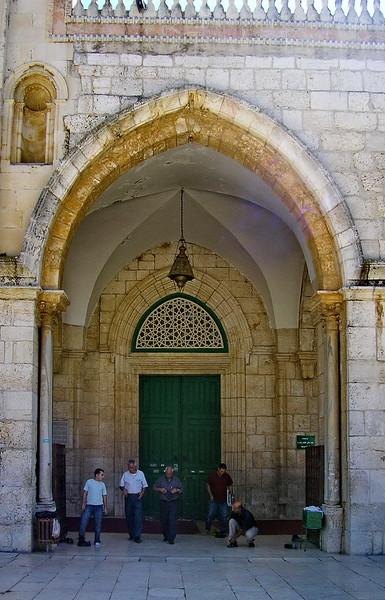 Al-Aqsa Mosque Doorway