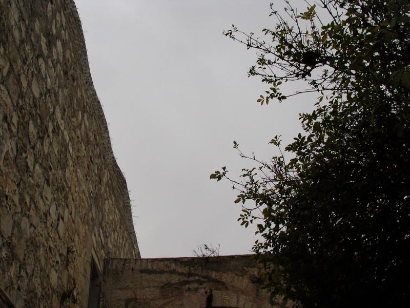 Glass Shard Wall Barrier