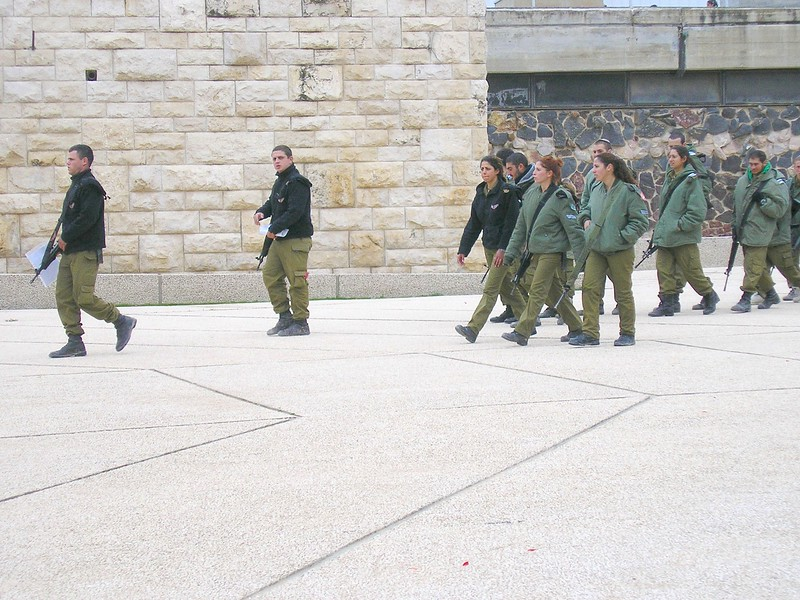 Young Soldiers Visit Yad Vashem