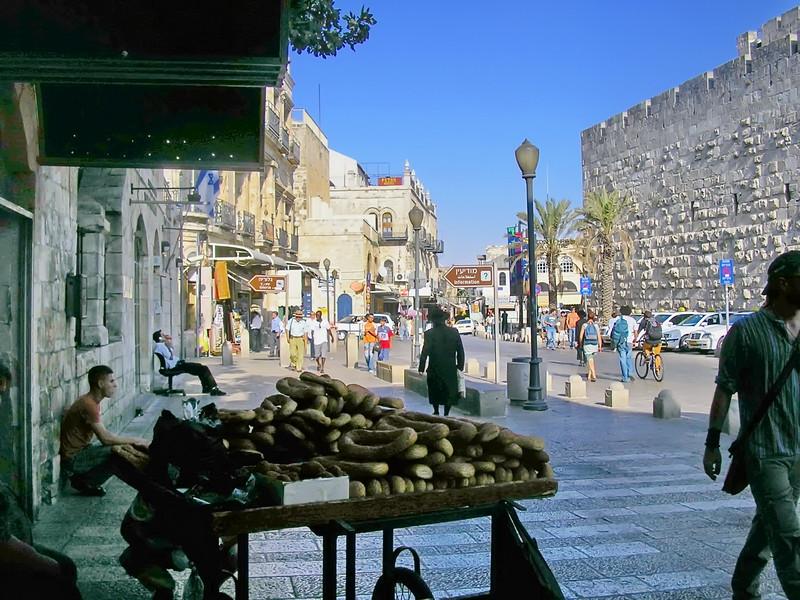 Old City near Jaffa Gate