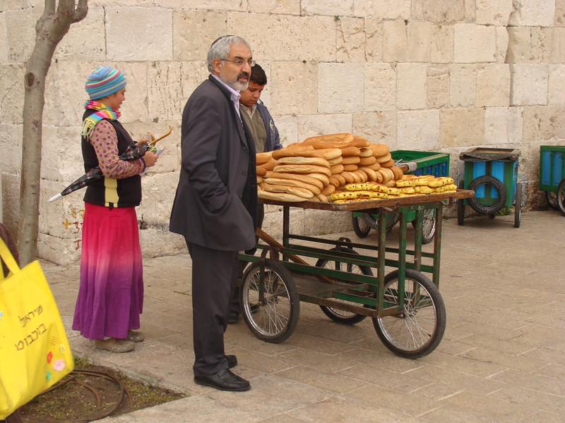 Bread Push Cart