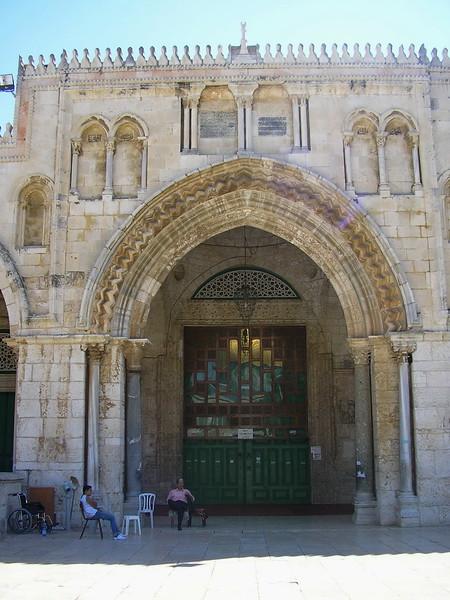 Al-Aqsa Mosque Entrance