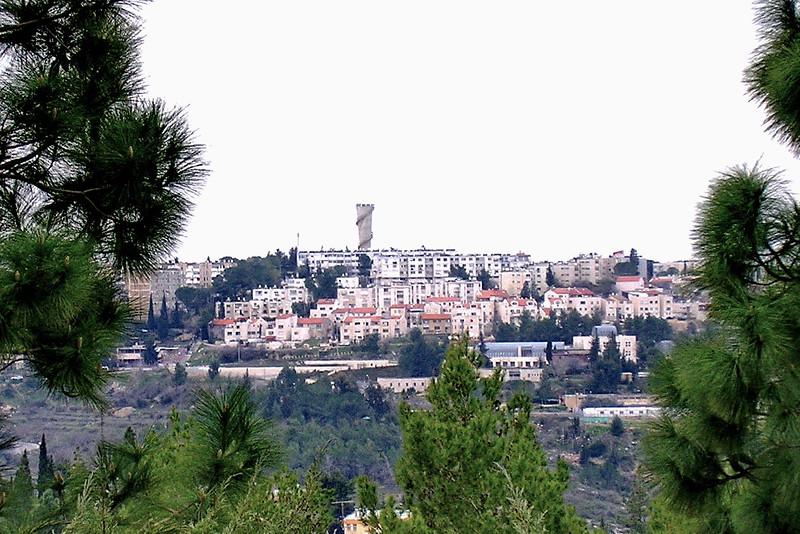 View of Jerusalem from Yad Vashem