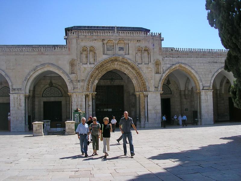 Al-Aqsa Mosque Facade