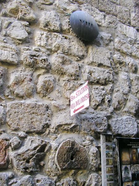 Station VIII, Jesus Speaks to the Women of Jerusalem