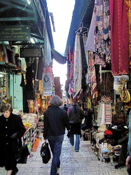 Souk in the Arab Quarter